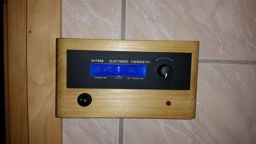 Montaż sterownika sauny
