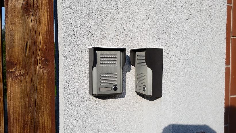 Montaż domofonów EURA z czytnikiem RFID