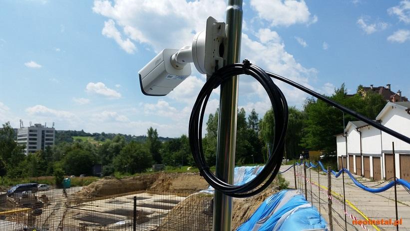 Zabezpieczenie budowy z LP Security w Cieszynie
